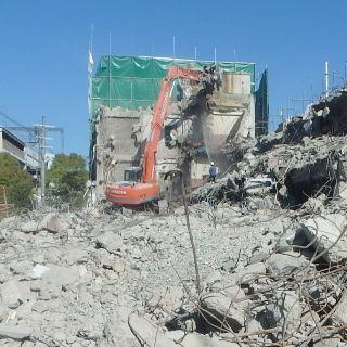 旧荒川庁舎解体工事②