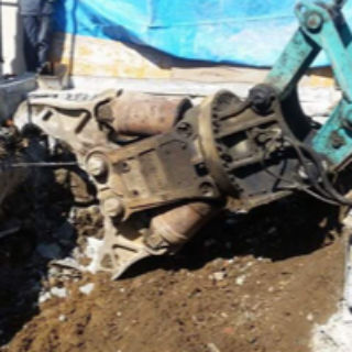 解体工事中の騒音対策