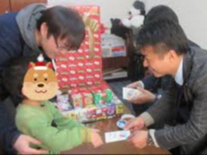 地元企業様よりクリスマスプレゼントをいただきました!