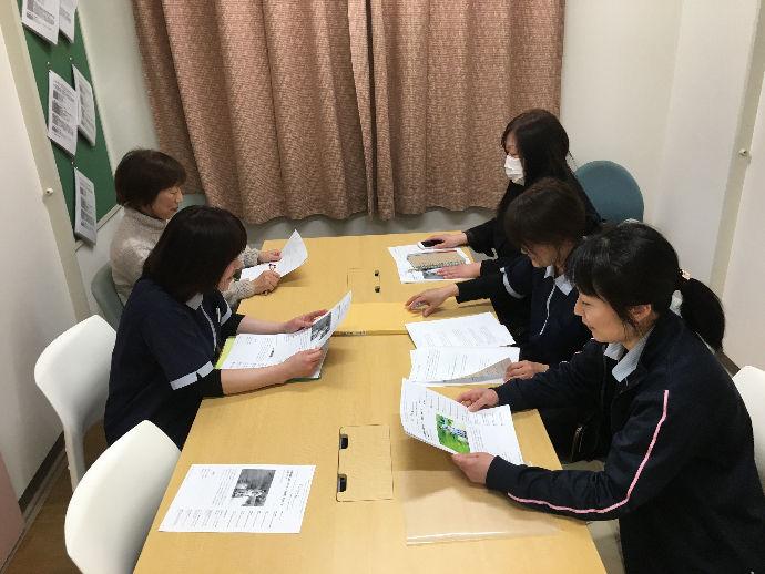 会議風景|青山第二病院訪問介護ステーション