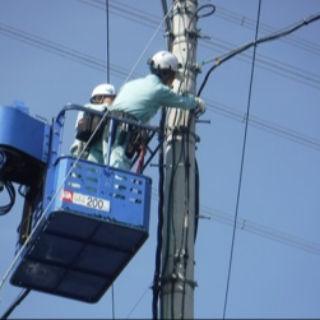 ■電柱・電線工事