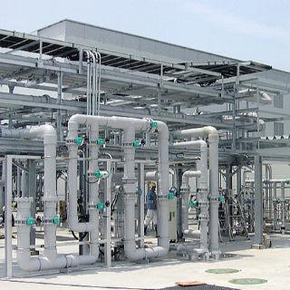 屋内水処理配管